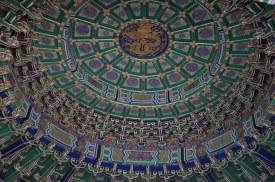 Admirez le détail de la structure du toit